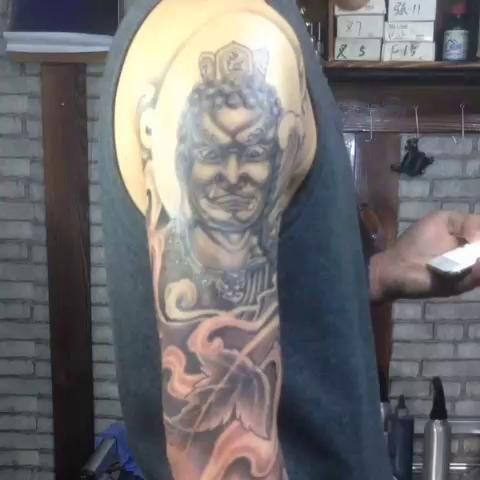网红大美纹身图案