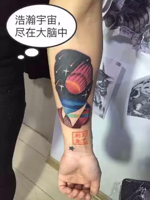 快手浪子吴迪的纹身分享展示图片图片