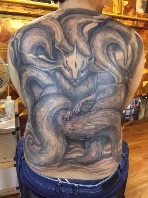 九尾狐-聊城大成纹身工作室