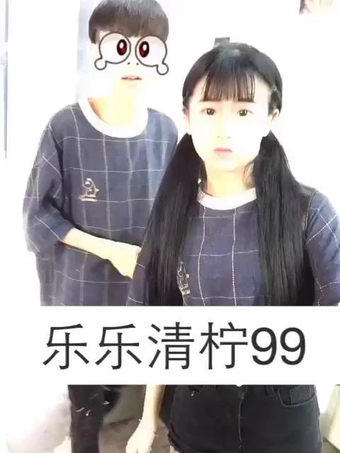 快手红人王乐乐发型分享展示图片