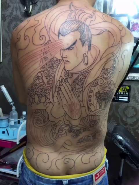 纹身刺青二郎神内容图片分享