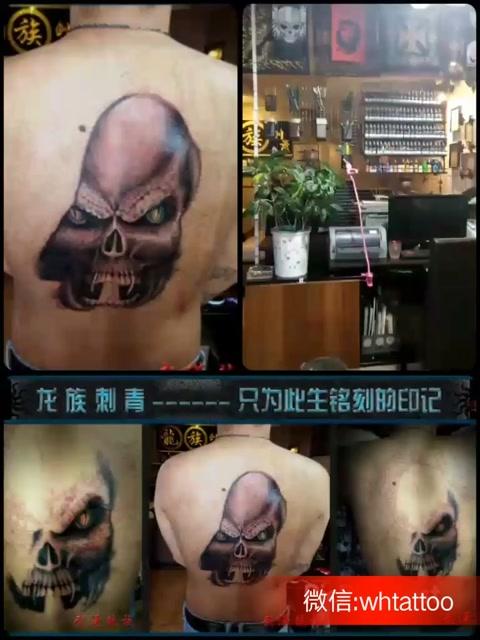 武汉纹身龙族纹身师-龙哥